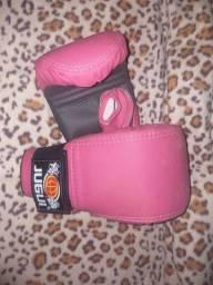 Luva de Boxe- Rosa