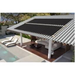 Título do anúncio: Kit Aquecedor Solar Piscina 10,8 m2 (03 Placas 3m)