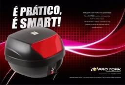Bau para Moto 28 Litros Novo Completo com chave e Suporte a Pronta Entrega