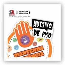 Adesivos - Mantenha diatsancia - Covid 19
