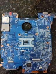 Placa mãe Sony modelo MBX-247 (Não Liga)