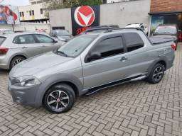 Fiat Strada Cabine Dupla Hard Working 1.4  Completa 3 Portas!!