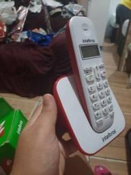 Título do anúncio: Telefone sem fio semi novo na garantia
