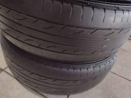Título do anúncio: 2 pneus 195/65/15 dunlop