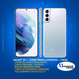 Samsung Galaxy S21+ Prata 256GB Lacrado + NF + Garantia Samsung