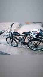 Bicicleta motorizada nova