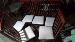 Título do anúncio: Cadeiras conjunto e avulsas