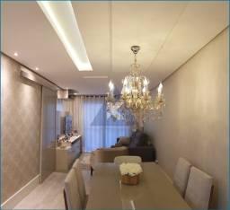 Apartamento Mobiliado, lindo, 2 dormitórios, sacada com churrasqueira, Sapucaia
