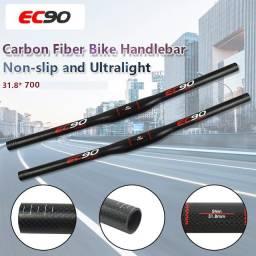 Guidão Fibra De Carbono Ec90 Ultralight 700mm