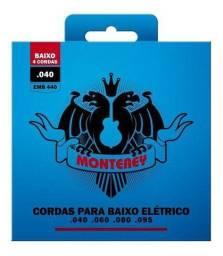 Encordoamento para Contra Baixo 4 Cordas Monterey 040 emb540