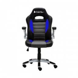 Título do anúncio: Cadeira Gamer Silver azul/cinza/preto ? Bluecase