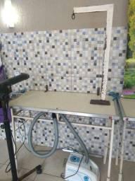 Mesa de tosa usada