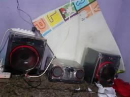 SOM LG  XBOOM 620W 650reais