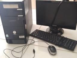 Título do anúncio: Computador CPU + mouse + teclado + monitor + Estabilizador