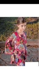 Título do anúncio: Vestido infantil Ópera Kids, 4 anos, novo , só 79,00 !