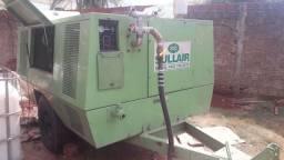 Compressor Sullair parafuso 375 pcm 10 bar