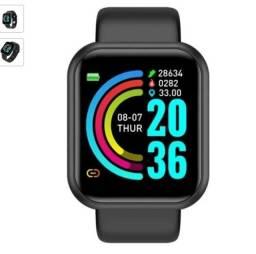 Relogio Inteligente Smartwatch D20/y68 Mede Pressão Arterial