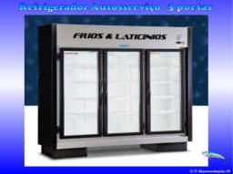 Refrigerador Autosserviço * 03 Portas *