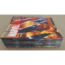 Pacote Revistas Eaglemoss Marvel - Dc & Fact Files