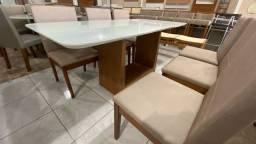 Título do anúncio: Mesa de jantar sala ou cozinha cadeiras resistente de madeira maciça
