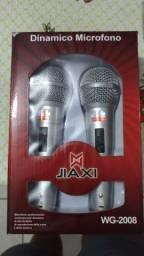 Microfones novos por 40