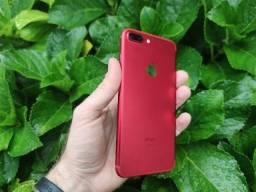 Título do anúncio: iPhone 7 Plus 128GB Red- Excelente!!  Com garantia