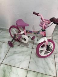 Bicicleta infantil menina peppa