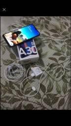 Samsung A30s completo na caixa