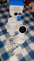 Câmera de segurança wifi fixa inteligente