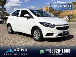 Chevrolet ONIX LT 1.0 Flex 5p Mec. - 1 Ano de Garantia - IPVA 2021 Pago - Completo - 2019