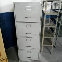Arquivo com 4 gavetas de 349,99 por apenas 199,99 cada
