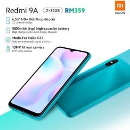 Xiaomi Redmi 9a 32 GB na caixa