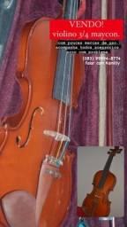 Vendo violino maycon 3/4