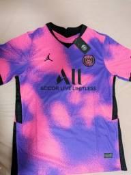 Camisa de futebol PSG IV Fourth Away 2020/2021