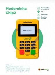 Minizinha chip2, novas, lacradas, aceita pagamento por nfc e chip.