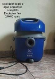 Título do anúncio: Aspirador de pó e agua electrolux flex com todos os itens