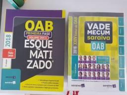 Oab esquematizado + Vade mecum 2018 saraiva