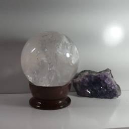 Esfera Quartzo Transparente 1KG