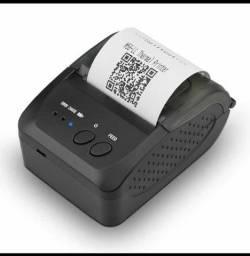 Mini Impressora Bluetooth Térmica Portátil 58mm Android Ios
