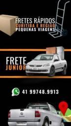 Fretes rápidos Curitiba reg. Metro.