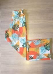 Loja Paradise patch - Calças Pantalona