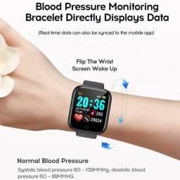 Relógio Smartwatch Y68 D20Pro Fitpro Relógio inteligente Foto Whatsapp