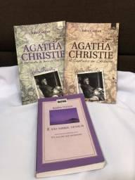Título do anúncio: Combo de 3 livros Agatha Christie