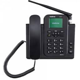 Telefone de mesa intelbras cfw8031 3g com wi-fi