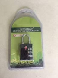 Cadeado TSA - 3 segredos-  mala de viagem- Possuo mais peças