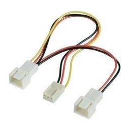 cabo adaptador 3 pinos p/ cooler fan akasa ak-fy320 splitter - ananindeua aurá