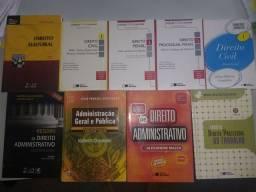 Título do anúncio: Livros de direito e para concurso