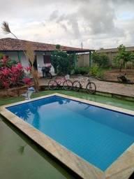 """""""P"""" casa em mosqueiro com piscina"""