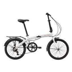Bicicleta Dobrável Eco+ Branca 2021 Durban