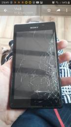 Sony quebrado a tela